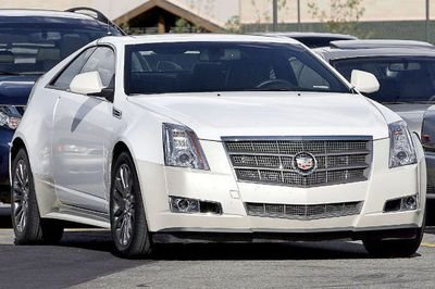 Cadillac CTS coupe - spy shots