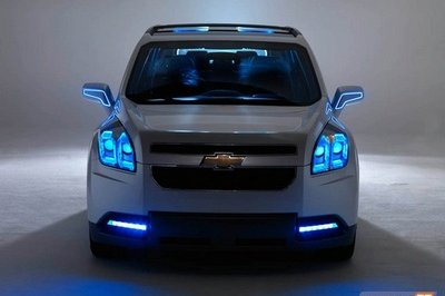 Chevrolet Orlando Concept photos emerge on the internet - image 265431