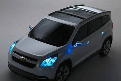 Chevrolet Orlando Concept photos emerge on the internet