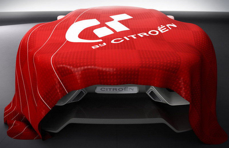 Citroen GT - new teaser; official unveiling on October 2nd