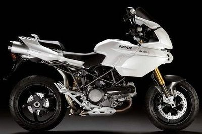 Ducati Hypermotard and Multistrada now in white