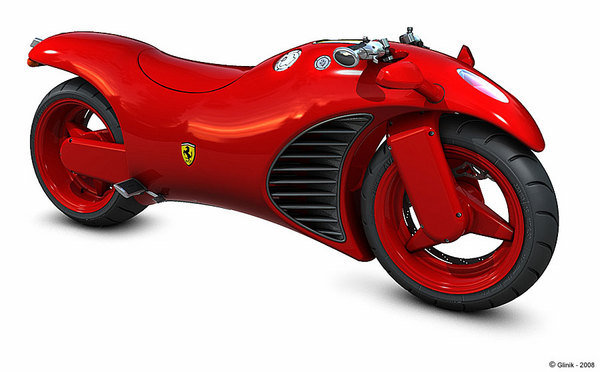 Ferrari V4 Motorcycle Concept | motorcycle News @ Top Speed