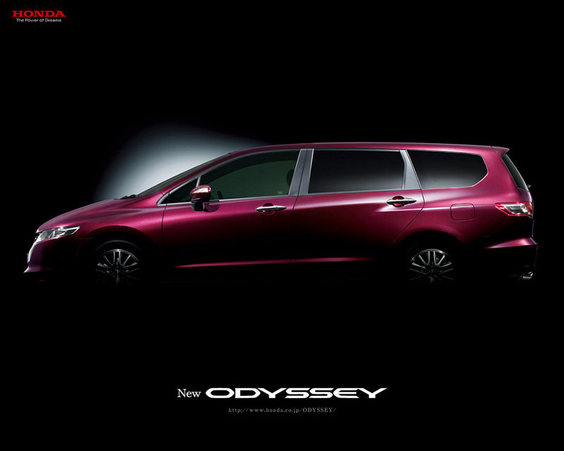 Fourth Generation Honda Odyssey Teaser