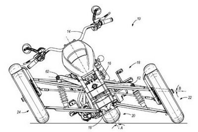 Harley-Davidson leaning trike patents to materialize into concept - image 265858