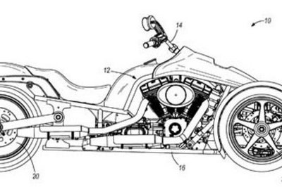 Harley-Davidson leaning trike patents to materialize into concept - image 265859