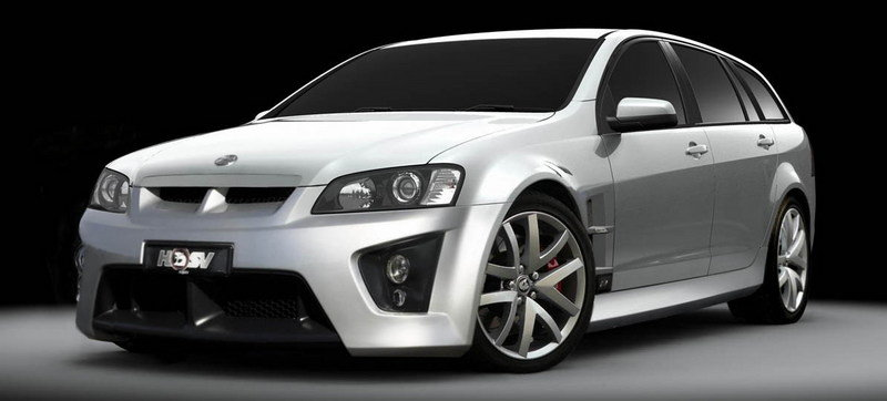 HSV launced on the Australian market the ClubSport R8 Tourer, the company's