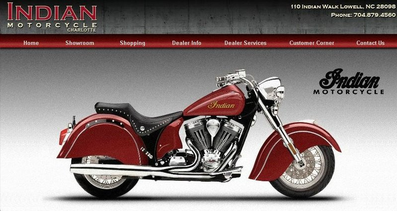 Indian Motorcycles to cut the ribbon at their first dealership on Sunday