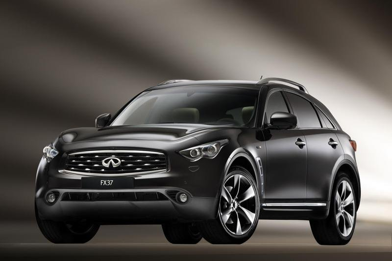 Infiniti FX37 to debut at the Paris Auto Show