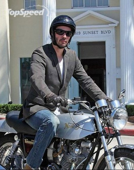 keanu reeves motorcycle