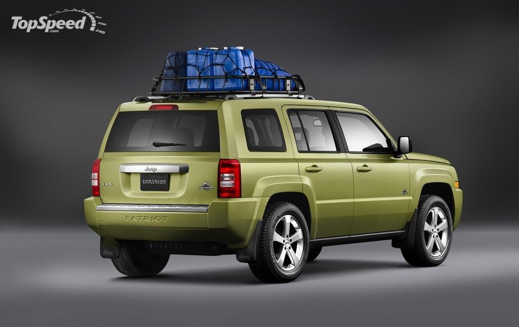 2008 Jeep Patriot Back Country Concept. 2008 Jeep Patriot Back Country