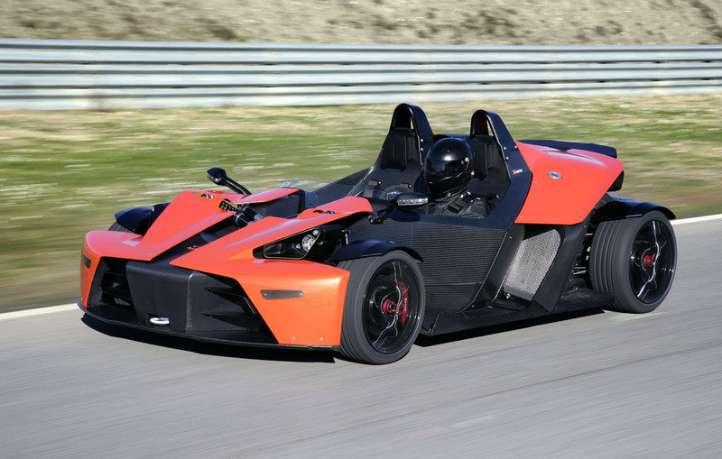 KTM X-Bow on its way to USA