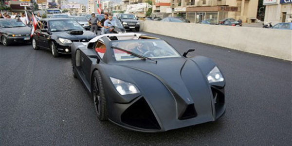 lebanon frem f1 supercar to be revealed at the 2009 detroit show picture