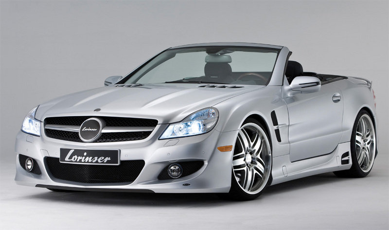 Mercedes SL500 by Lorinser