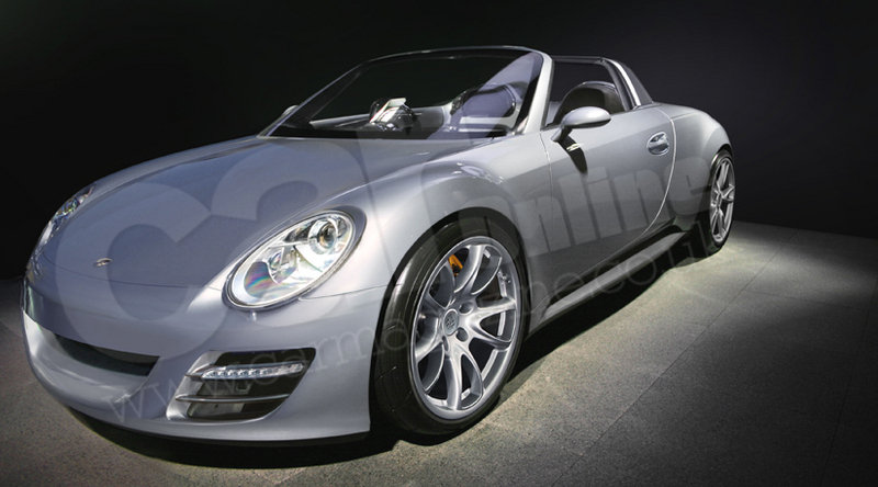 Porsche's future smallest roadster