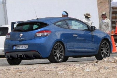 Renault Megane RS III spy shot