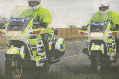 Want to buy a Police Motorcycle? Going Cheap...