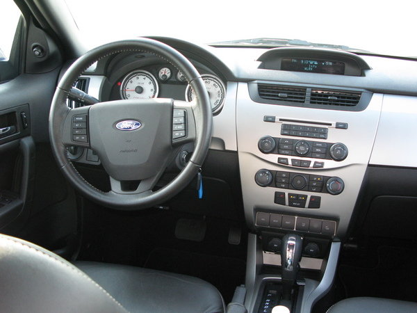 2008 Ford Focus Coupe Black 2008 ford focus ses car review @ top speed