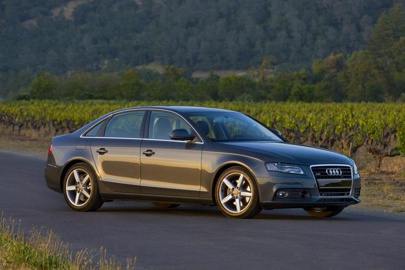 2009 Audi A4 - highest federal crash test rating