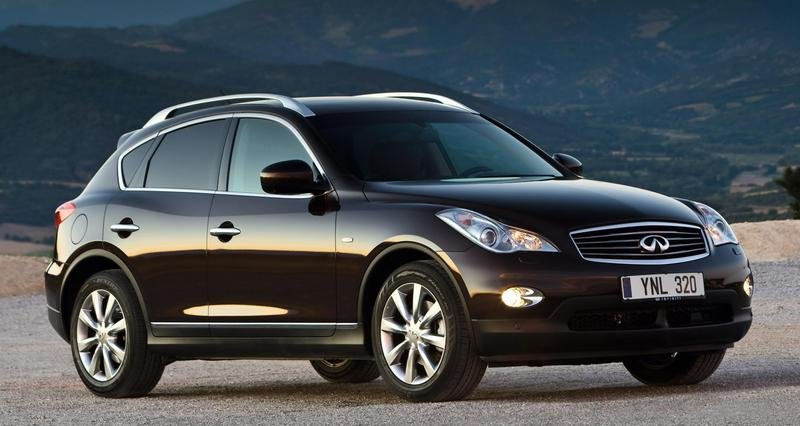2010 Infiniti EX will get more rear legroom