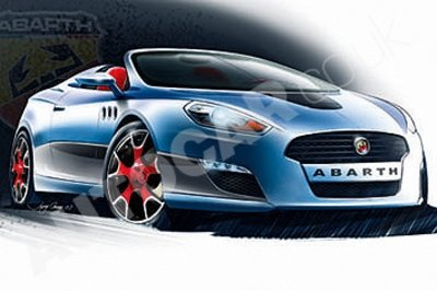 Abarth Coupe rendering
