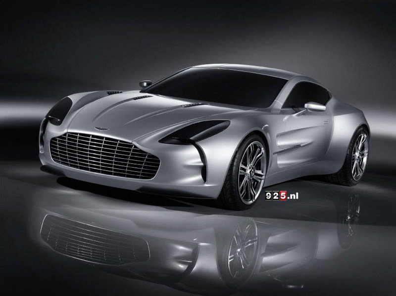 Aston Martin One-77 - new images