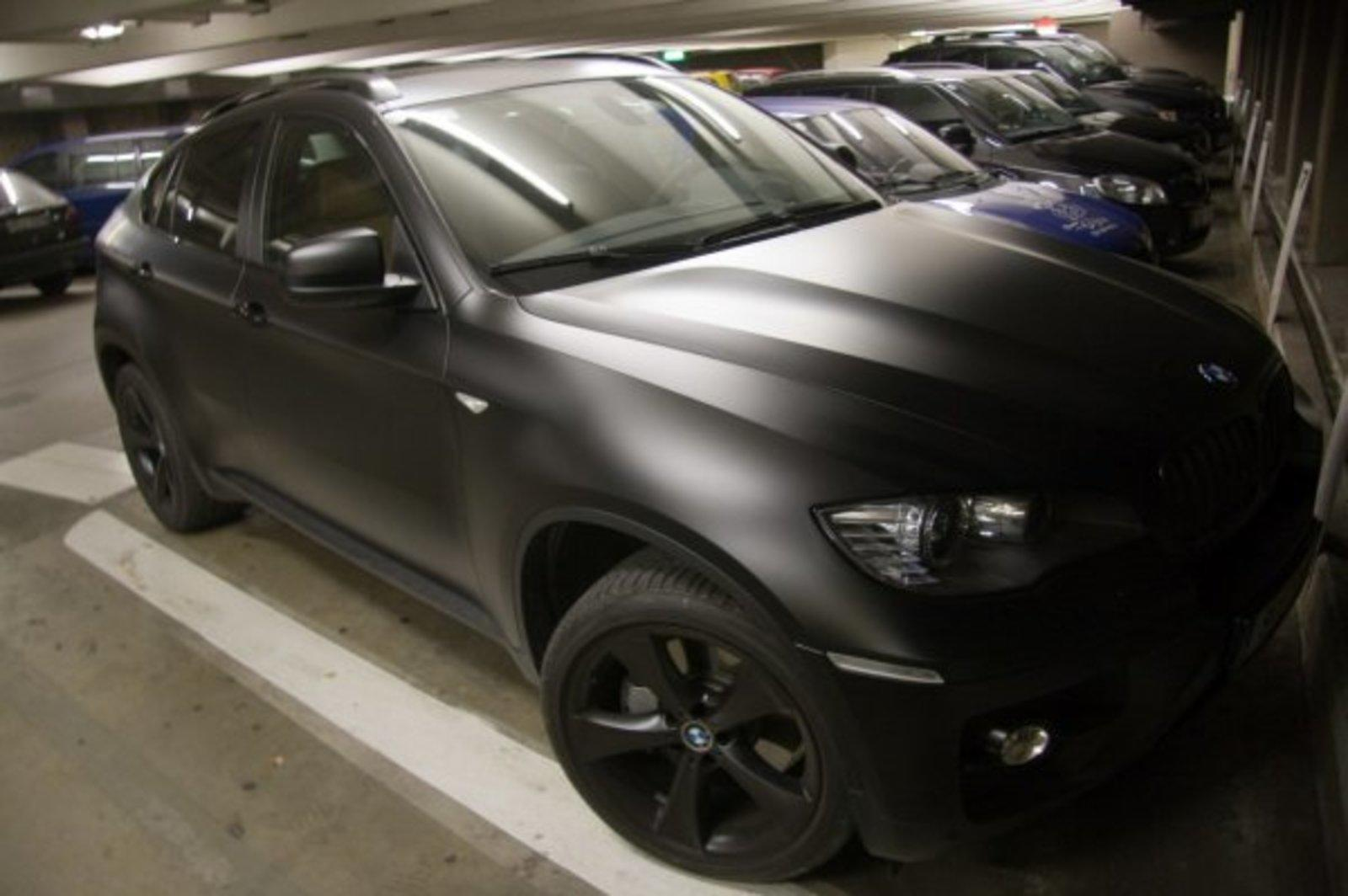 Matte Black Bmw X6 News Top Speed