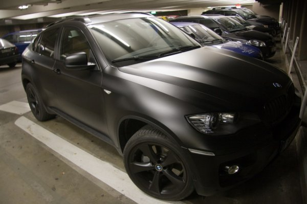 Matte Black Bmw X6 Picture 268892 Car News Top Speed