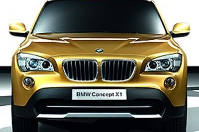 BMW X1 - first official images