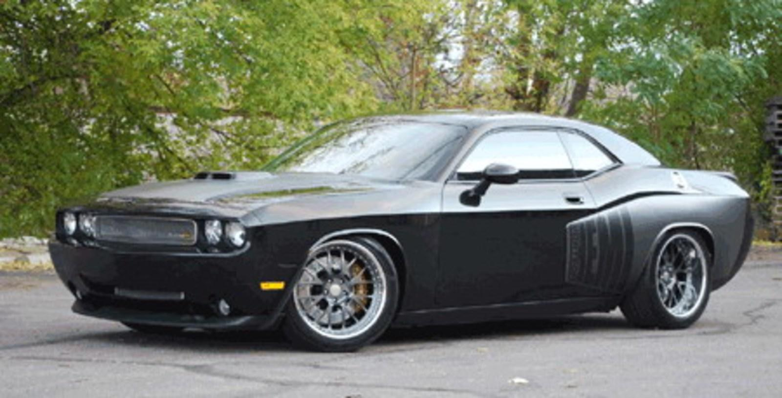 Cdc Group 2 Challenger To Debut At Sema News Top Speed