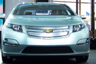 Chevrolet Volt eligible for $7,500 tax credit