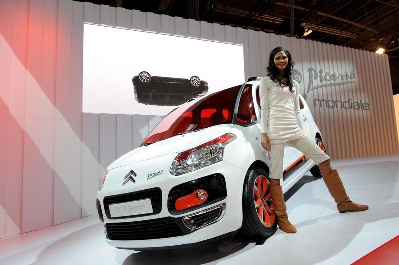 Citroen C3 Picasso with Start-Stop technology