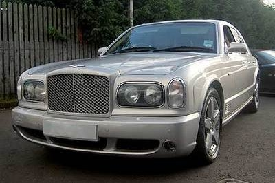 David Beckham's Bentley for sale