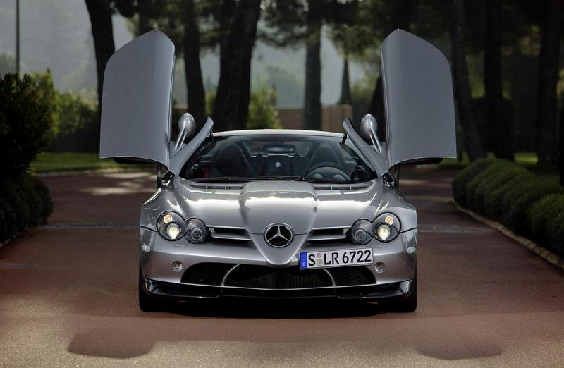Mercedes SLR 722 S - new images available
