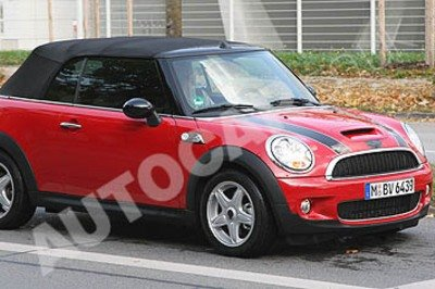 Mini Convertible spy shot
