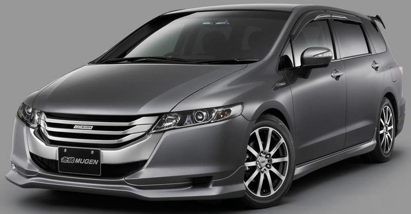 Mugen tuned the new Honda Odyssey