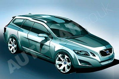 Next Volvo V70 renderings