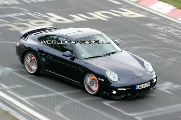 porsche 911 turbo facelift spy shot picture