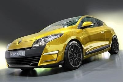 Renault Megane RS renderings