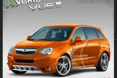 Saturn Vue Hybrid by R Bottom Design to debut at SEMA