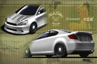 Scion will bring three customized tC to SEMA
