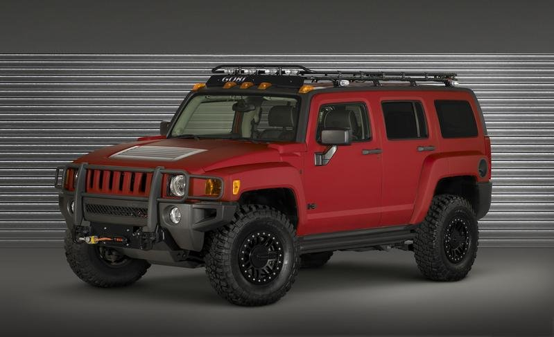 Three Hummer H3 Concepts for SEMA