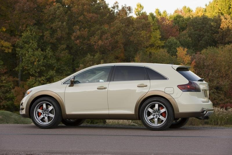 2009 toyota venza as v by five axis review top speed. Black Bedroom Furniture Sets. Home Design Ideas