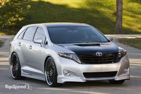 Toyota will unveil at the SEMA Show the SportLux Venza created by Street