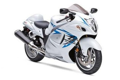 White paint schemes to dress 2009 Suzuki super sport models