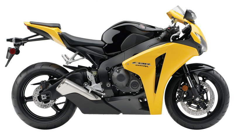 2009 Yellow Honda CBR1000RR ABS Motorcycle Picture