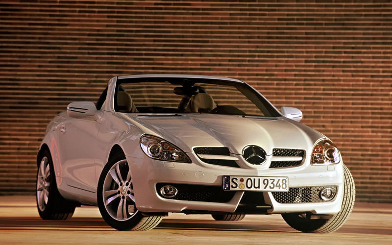 2010 Mercedes SLK to receive diesel engine