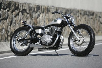 A tricked out Honda Rebel by Heiwa