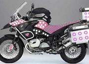 BMW R1200GS Barbie Edition
