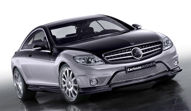 Carlsson Aigner CK65 RS Eau Rouge Dark based on the Mercedes CL