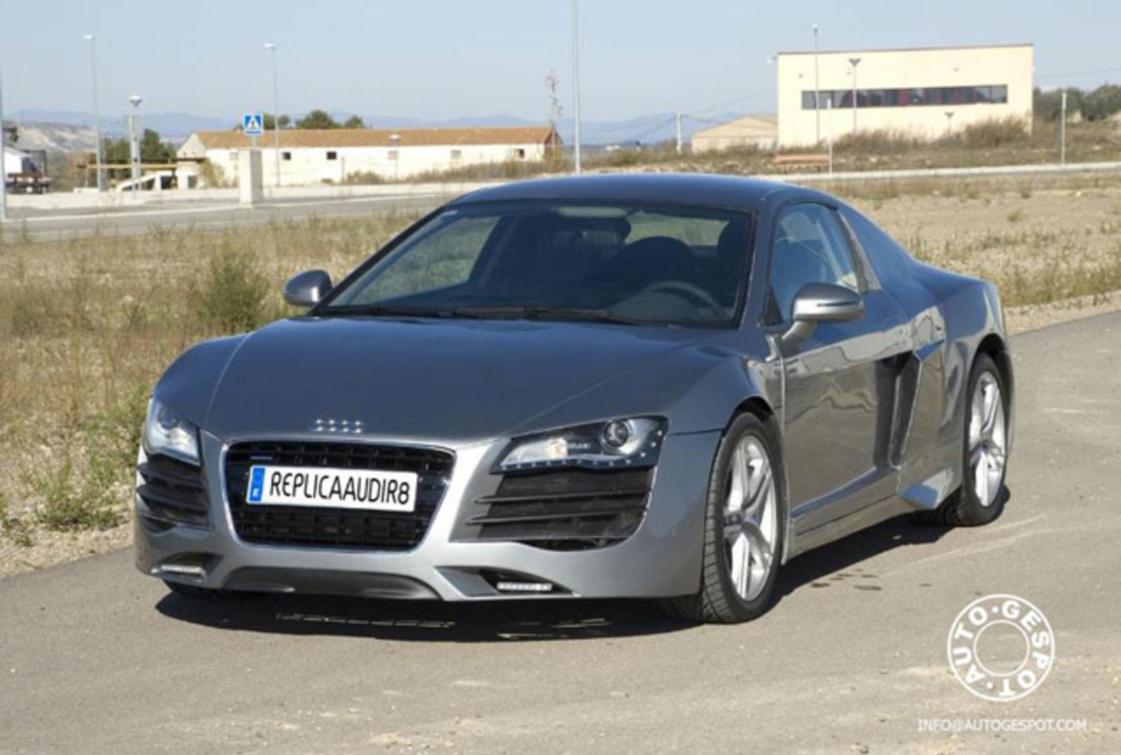 First R8 Replica News Top Speed